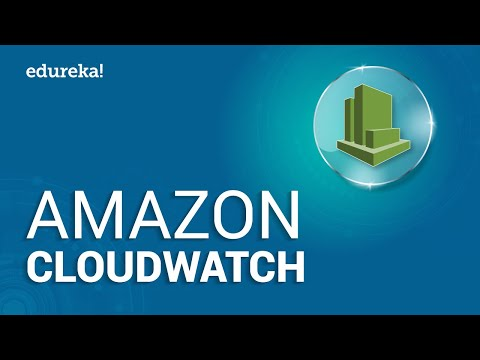 Amazon CloudWatch Tutorial | AWS Certification | Cloud Monitoring Tools | AWS Tutorial | Edureka