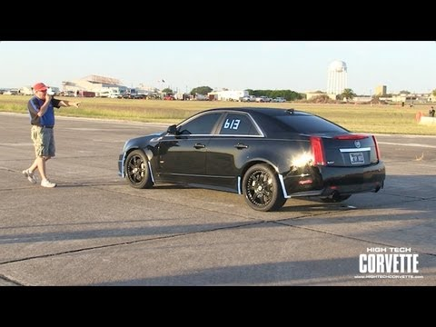 CTS-V Cadillac - Texas Mile - October 2011
