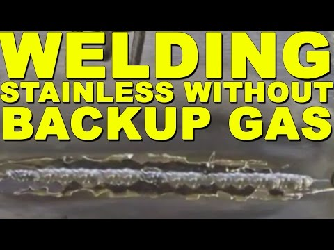 How to Weld Stainless Steel without Backup Gas   TIG Time