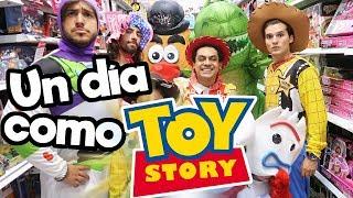 Un Día como personajes de Toy Story 4!! / Memo Aponte
