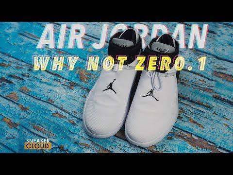 Обзор Air Jordan Why Not Zer0.1 -Кроссовки Рассела Уэстбрука