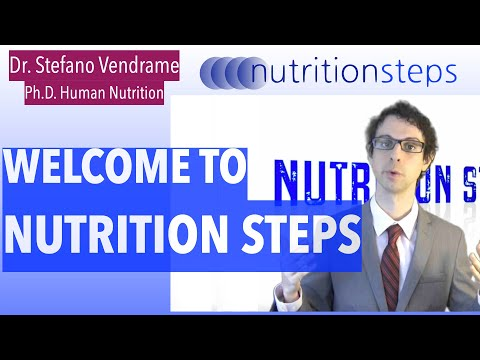 Nutrition Steps 1.1 - Welcome!