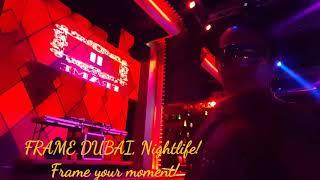 Frame your party moment at Frame Nightlife, Dubai Marine Beach Resort, Jumeirah Dubai.