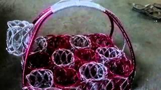 Limbah Sampah Di Sulap Jadi Kerajinan Cantik luar biasa | handicraft