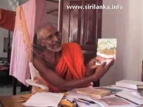 Mookalangamuwe Pannayananda Thero explains that Buddha was born in Sri Lanka