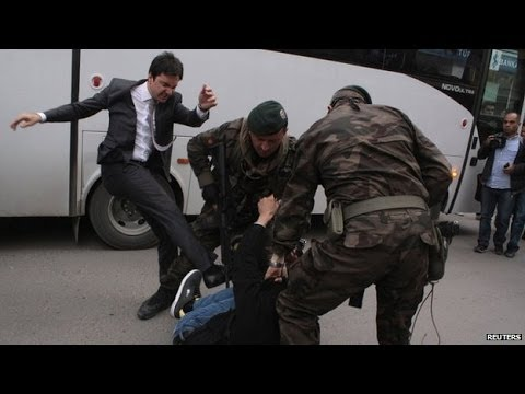 Turkish mine disaster: Unions hold protest strike