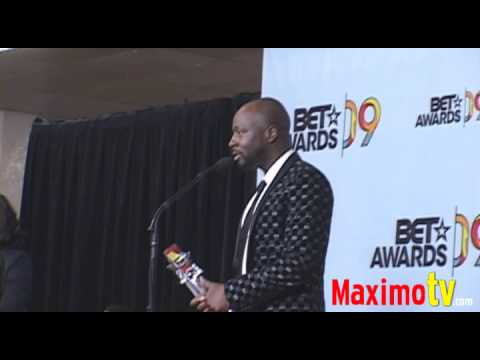 WYCLEF JEAN on Michael Jackson at 2009 BET Awards Press Room