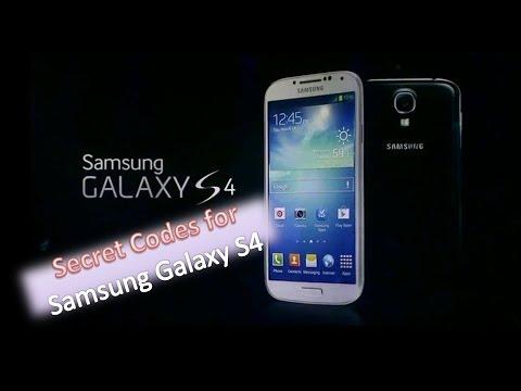 Samsung Galaxy S4 Hidden Codes