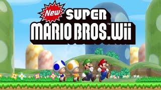 New Super Mario Bros. Wii - Worlds 1 through 9 (All Star Coins / Secret Exits)