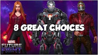 INFINITY WAR PART 2 UNIFORMS 👉 PURCHASE GUIDE - Marvel Future Fight