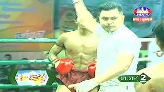 Kun Khmer, តាញ់ មករា Vs ថៃ, Tanh Makara Vs Bandasak (Thai), SEATV boxing 19 Jan 2019 | Fights Zone