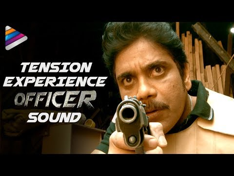 Experience TENSION | OFFICER Movie Sound | RGV | Nagarjuna | Myra Sareen | Telugu FilmNagar