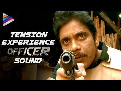 Experience TENSION | OFFICER Movie Sound | RGV | Nagarjuna | Myra Sareen | Telugu FilmNagar