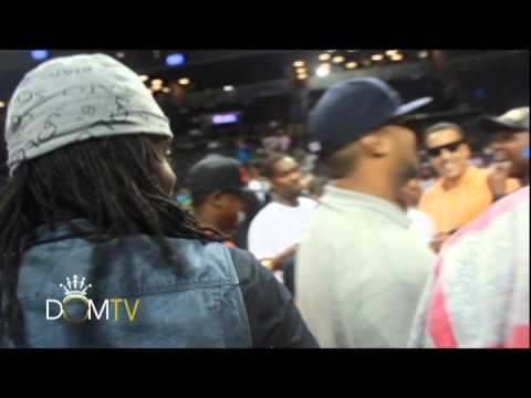 Wale Makes A One Arm Shot At Ebc Rucker Celebrity Challenge At Barclays video