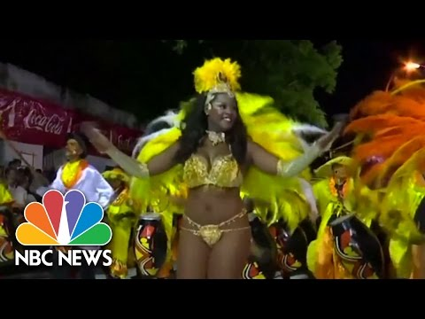 Brazilian Carnival Gets Underway in Rio | NBC News
