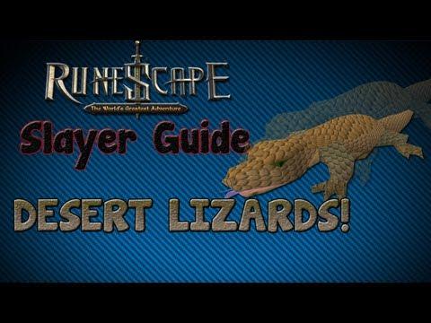 """""""Runescape 07″ – Slayer guide #4: Desert Lizards!"""