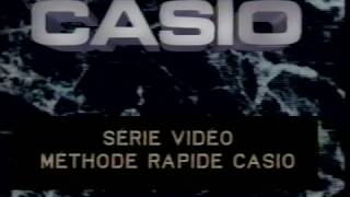 Introduction à votre Casio (1989)
