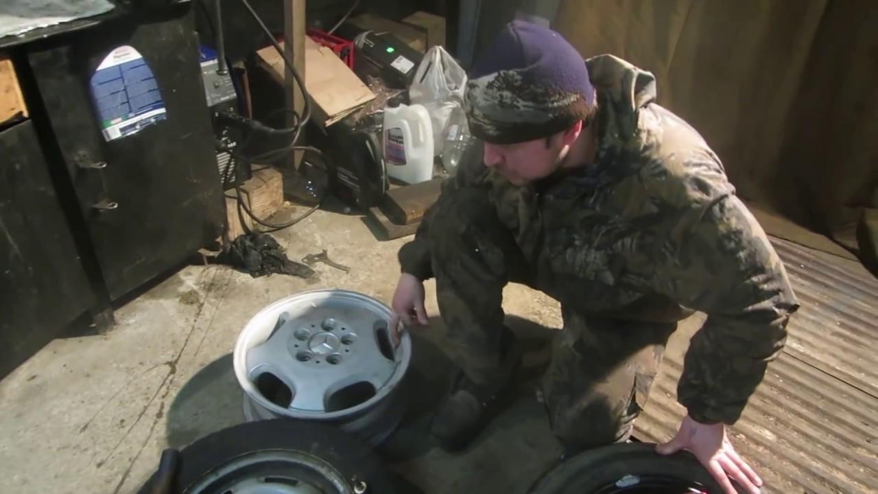 Замена вентиля колесо своими руками