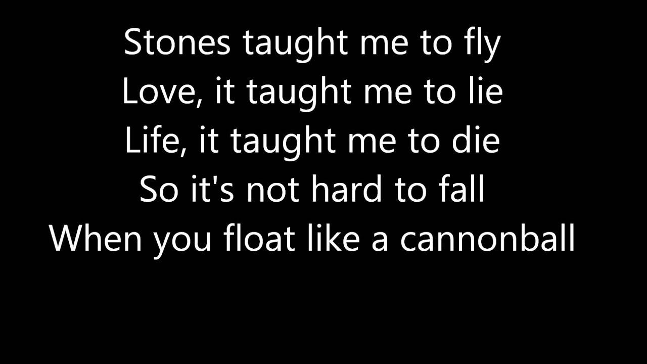 Cannonball lyrics