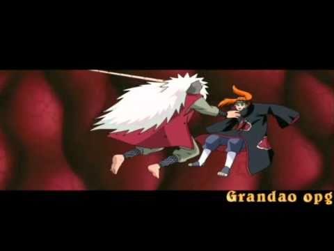 Naruto  Not Afraid (jiraya Vs Pain) (eminem) video