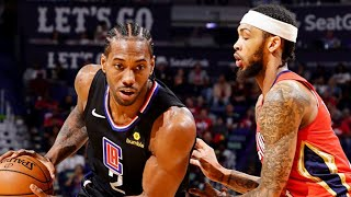 LA Clippers vs New Orleans Pelicans Full Game Highlights | January 18, 2019-20 NBA Season