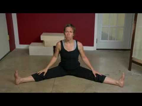 12. Seated Straddle Stretch