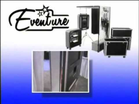 The Eventure Portable Photo Booth (as featured on Technology Today)