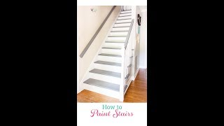 Your Guide for Painting Stairs