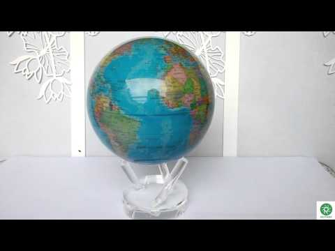 ROTABY Green energy light driven perpetual motion globes