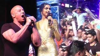 xXx: Return Of Xander Cage Vin Diesel's CRAZY Fan Interaction Full Video HD - Deepika Padukone