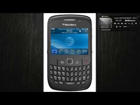 como configurar el internet Blackberry