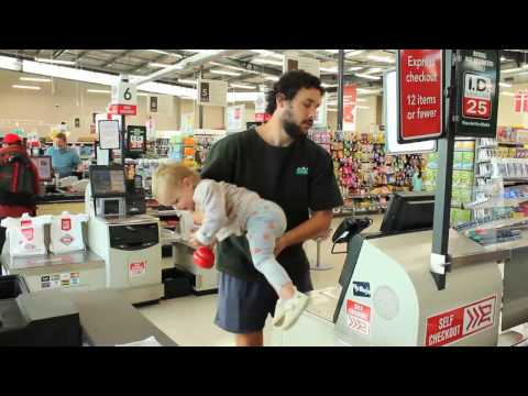 HOW TO GO GROCERY SHOPPING WITH A BABY