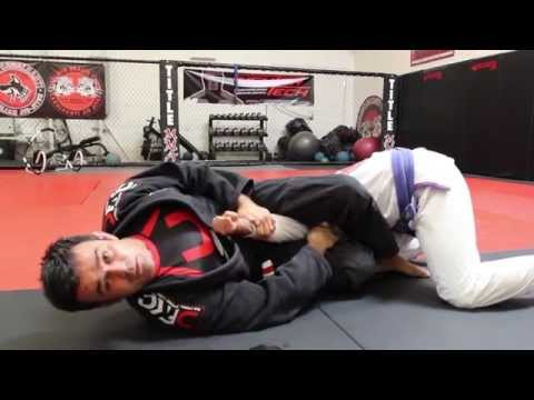 Jiu Jitsu Techniques - Attacks From Spider Guard / Foot On Hips Image 1