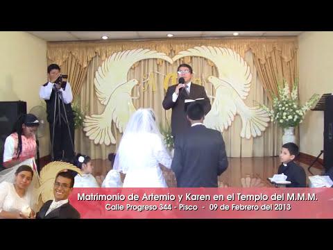 Ceremonia del Matrimonio Artemio y Karen