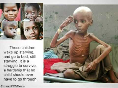 Hungry Africans Child Hunger in Africa...