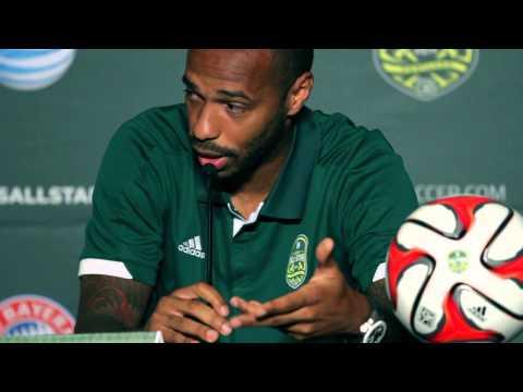 Thierry Henry adelt Thomas Müller! CR7 und Lionel Messi sind Freaks | MLS Allstars - FC Bayern