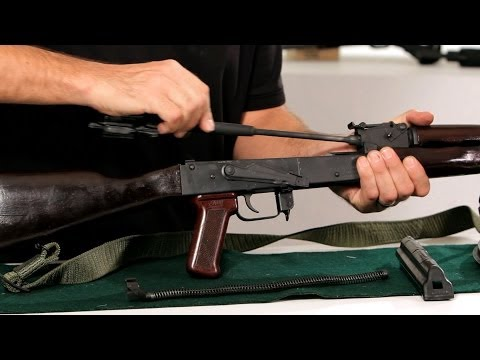 How to Disassemble an AK-47   Gun Guide