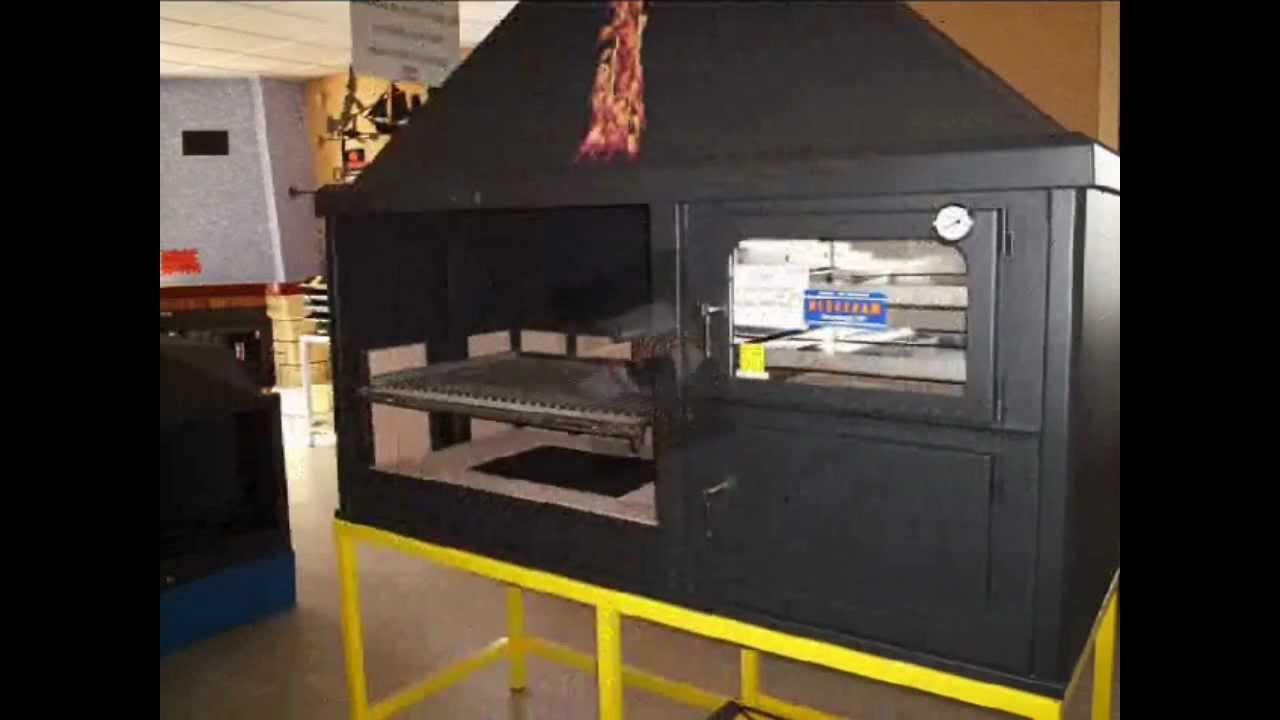 Hornos de le a chimeneas lopez youtube - Salones con estufas de lena ...