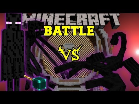 Mutant Enderman and Ender Lord Vs. Emperor Scorpion - Minecraft Mob Battles - Arena Battle