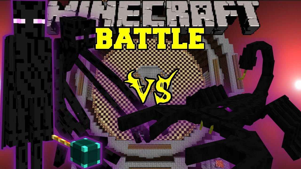 Mutant Enderman And Ender Lord Vs Emperor Scorpion
