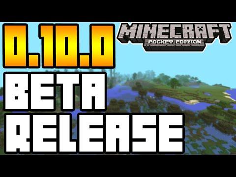 Minecraft Pocket Edition - 0.10.0 UPDATE! - BETA RELEASE! + MORE INFO