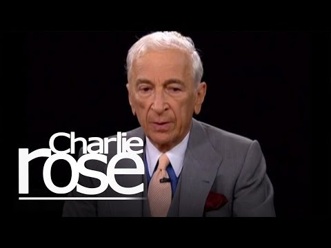 Gay Talese on the New York Times and the internet www.CharlieRose.com