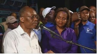 Former Haitian President Aristide collapses