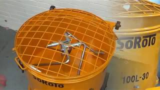 SoRoTo 100L | Forced Action Mixer for Resin Bound Gravel