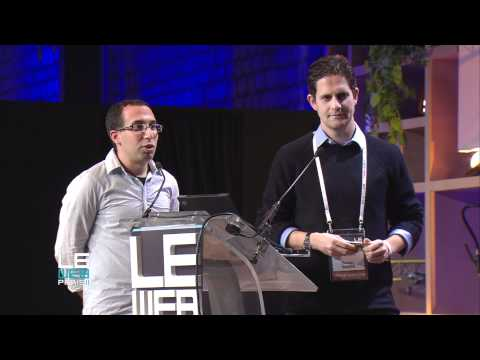 LeWeb 2011 Echo Labs Limited, Startup Competition
