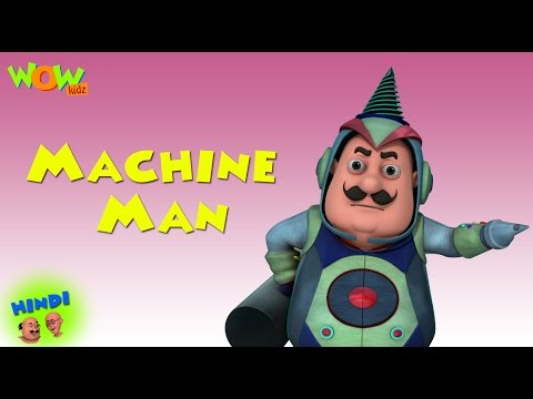 Machine Man - Motu Patlu in Hindi WITH ENGLISH, SPANISH & FRENCH SUBTITLES thumbnail