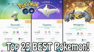 Top 25 BEST Pokemon To Power Up In 2019 In Pokemon GO! | Which Pokemon Are Worth Powering Up?!