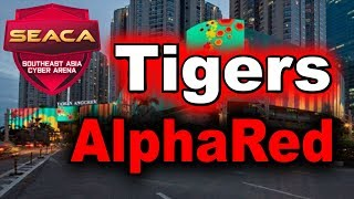 Tigers vs AlphaRed UNBELIEVABLE THRONE DEFEND Game 1 SEACA 2018 MAIN EVENT