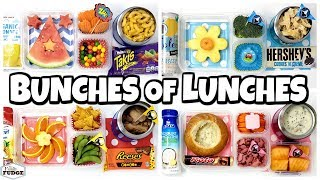 MYSTERY YouTube Channel #4 Chooses Our Lunches + Kids React😱 School Lunch Ideas for KIDS