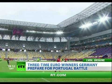 "EURO 2012 ""group of death"": Three-time winners Germany prepare for Portugal battle"